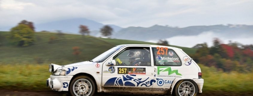 Micheloni vince la A5 con la 106 all'inferno del Due Valli