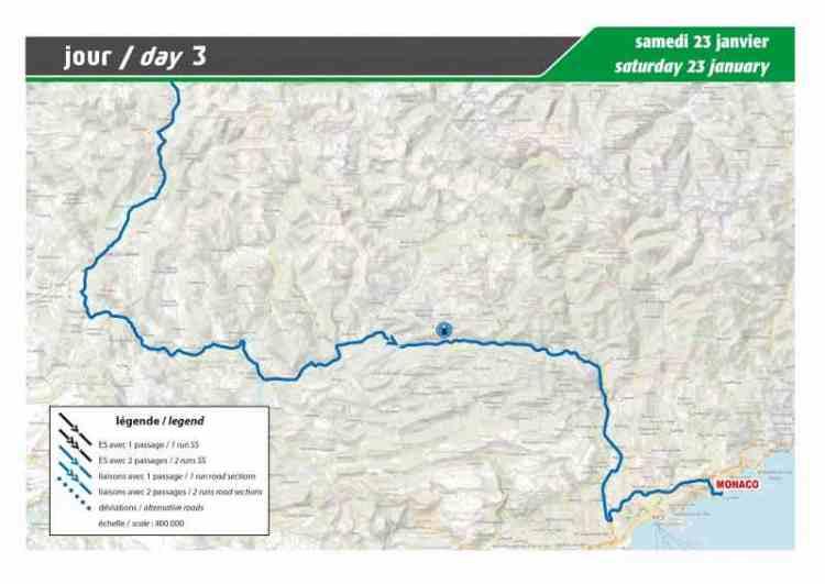 La guida: percorso e programma del Rally di MonteCarlo