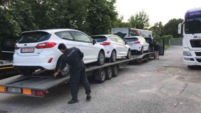 Arrivate In Sede Le Nuove Ford Fiesta Di Motorsport Italia Per Il Cir Junior Rs E Oltre