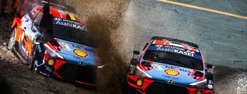 Aci Rally Monza: l'errore che causa il ritiro di Neuville (VIDEO)