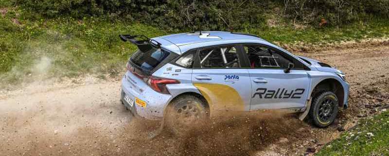 Nuova Hyundai i20 Rally2