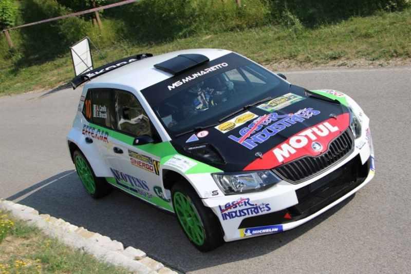Nuova sfida della Michelin Rally Cup al rally albese