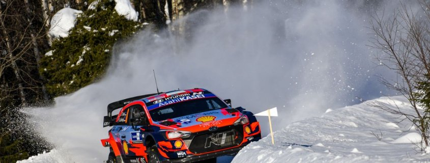 Ott Tanak all'Arctic Rally