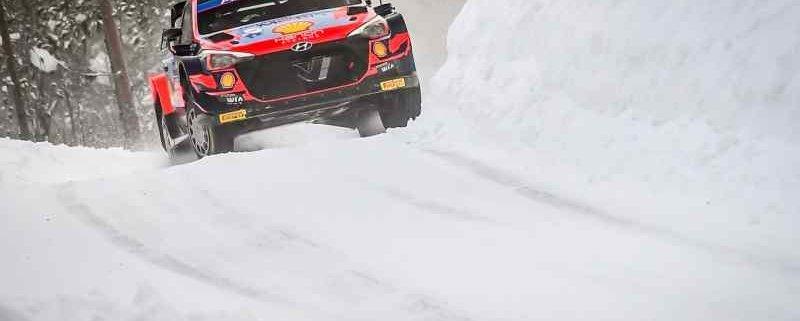 WRC: Ott Tanak il più veloce nello shakedown