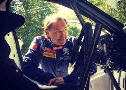 Paolo Andreucci testa la nuova Peugeot 208 Rally4