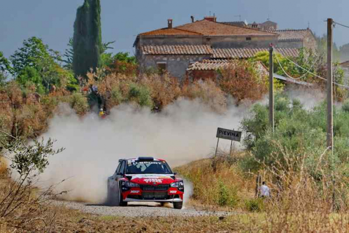 Paolo Andreucci, Rally Città di Arezzo