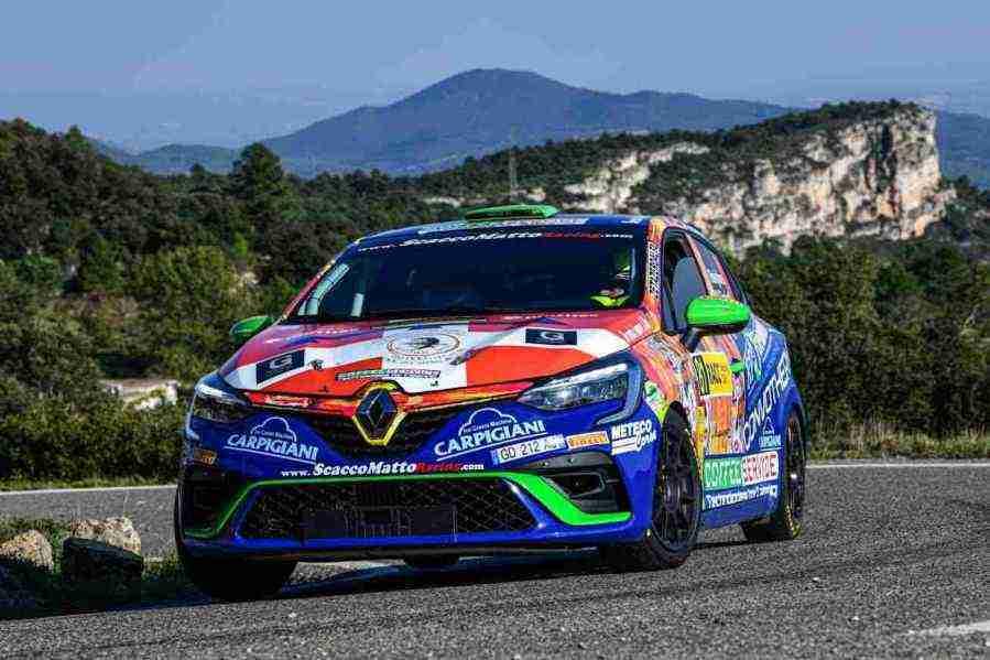Paolo Raviglione, Rally Spagna 2021