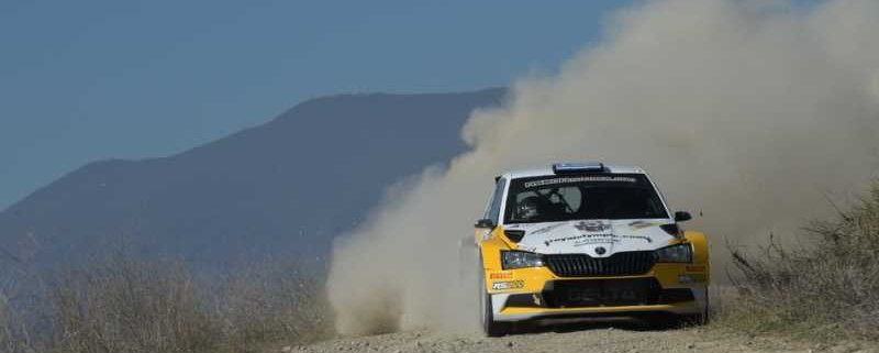 Joannis Papadimitriou vincitore del rally sterrato
