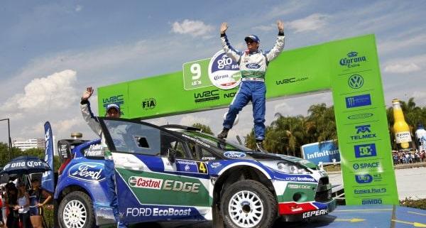 Petter Solberg, Rally del Messico 2012