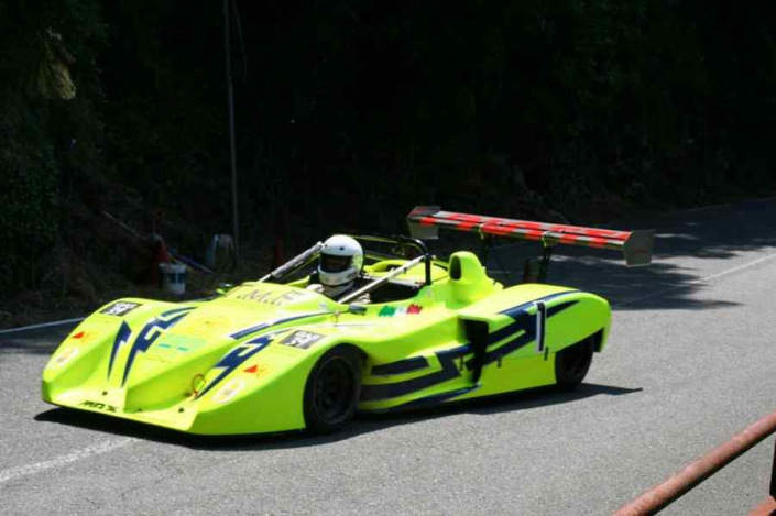 Piotti allo Slalom Favale Castello 2020