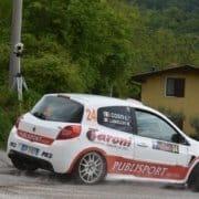 PubliSport Racing 'forza otto' al rally di Salsomaggiore
