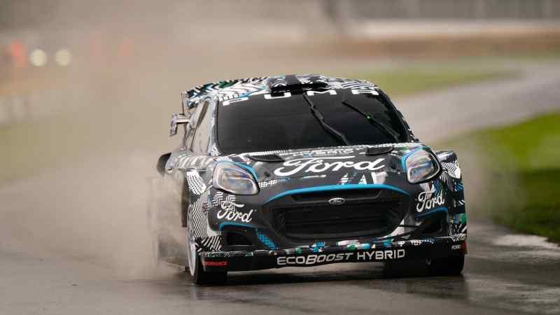 La Puma WRC in azione