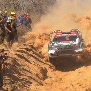 Una immagine del Rally del Chaco