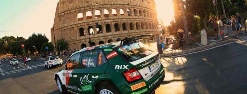ERC, Rally di Roma Capitale 2020: sono aperte le iscrizioni