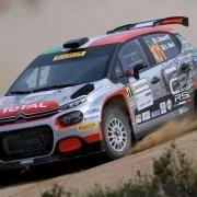Rossetti-Mori al Rally Italia Sardegna