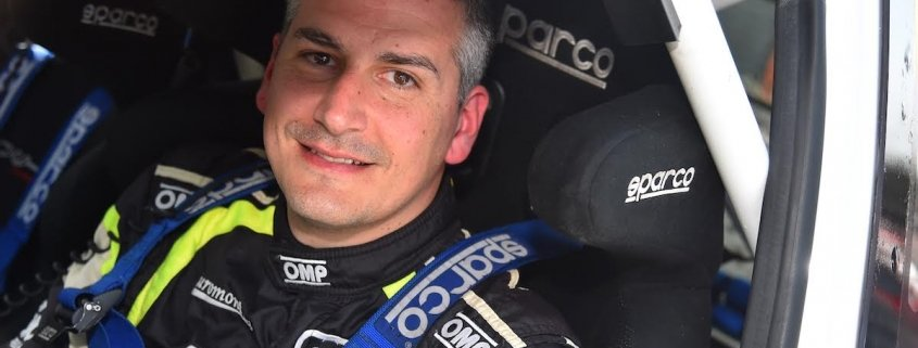 Rudy Michelini nel CIR 2020 con la VW Polo R5