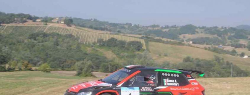 Rusce-Farnocchia, Rally Salsomaggiore 2021