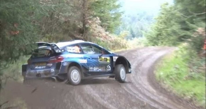 Rally del Galles, le emozioni dello Shakedown (VIDEO)
