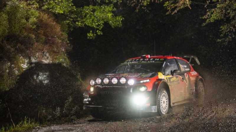 Sebastien Ogier al Rally del Galles 2019