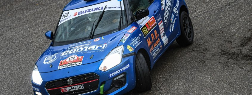 Suzuki Rally Cup: Rivia batte Schileo e vince il monomarca