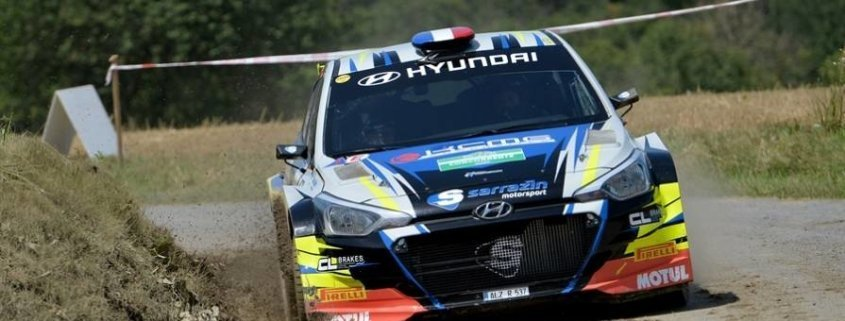 Stephane Sarrazin al Rally di Alba