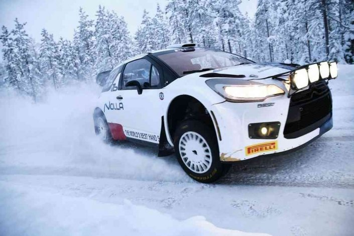 Teemu Asunmaa ha vinto l'Arctic Rally