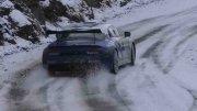 Cédric Robert e la Alpine A110 in test pre-MonteCarlo