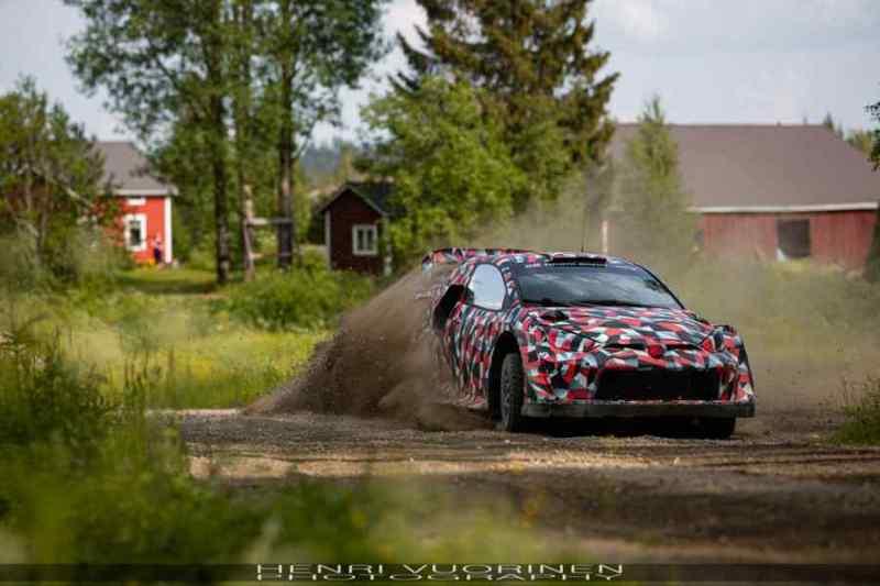 Test Toyota Yaris WRc Hybrid