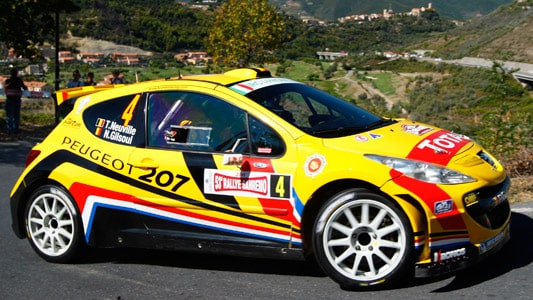 Thierry Neuville, Rally Sanremo 2011