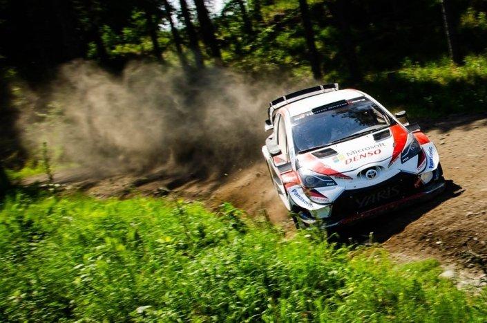 Toyota, test in Finlandia con Rovanpera, Evans e Ogier
