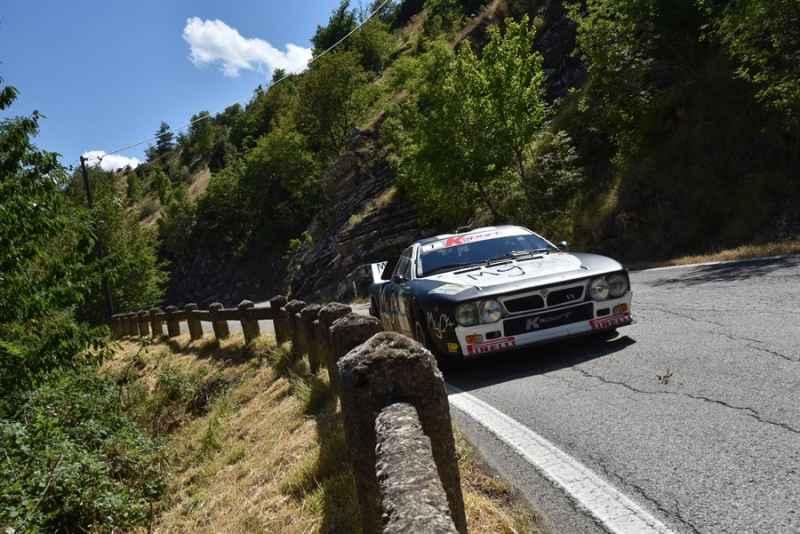 Bianchini-Paganoni, su Lancia 037, sono secondi assoluti