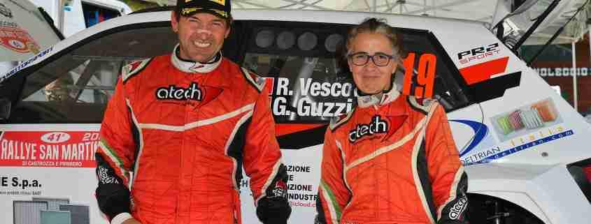 Vescovi-Guzzi, Rally San Martino di Castrozza 2021