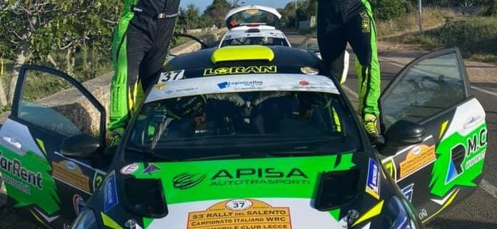 Vincenzo Massa, Rally del Salento 2021