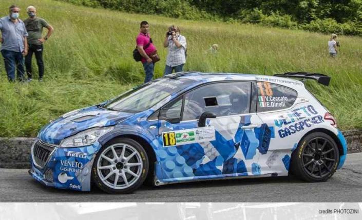 Vittorio Ceccato, Rally Abeti 2021