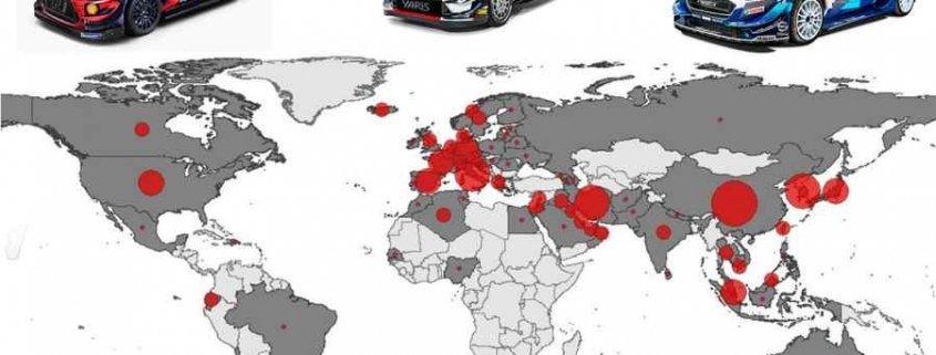 Ecco come potrebbero cambiare WRC, CIR e CIWRC