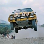 Walter Rohrl e Jochen Berger al Rally dell'Acropoli 1975