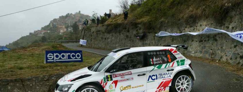 Fabio Andolfi Rally di Sanremo 2021
