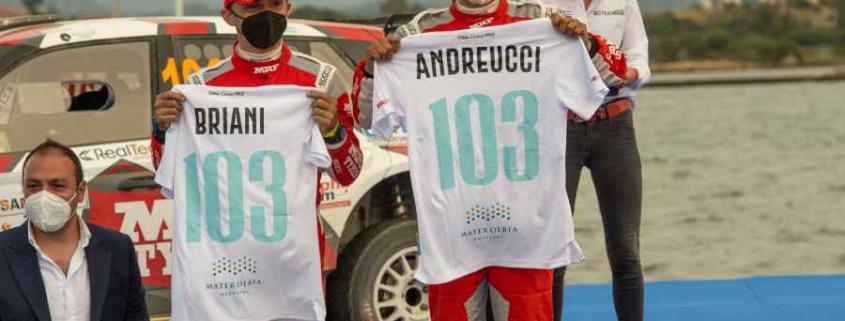 Paolo Andreucci e Rudy Briani