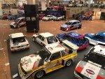 La collezione di auto da rally ospitata a Monaco