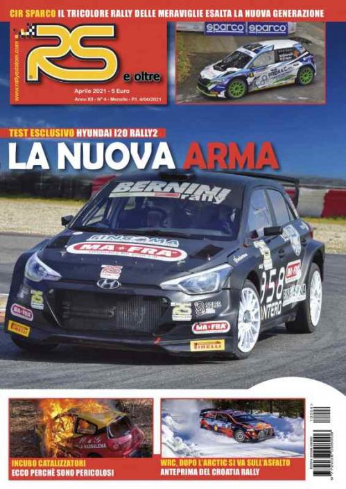 La copertina di aprile 2021 di RS e oltre
