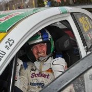 Gigi Galli al via di Rallylegend