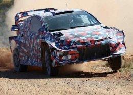La Toyota GR Yaris WRC Plus e il test misterioso