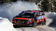 Oliver Solberg all'Arctic Rally Finland