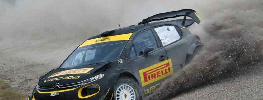 Pirelli sulle PS iridate sarde per il World Rally Championship 2021
