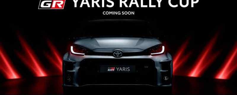 La locandina della Yaris Rally Cup